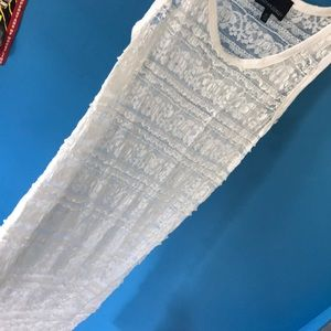 lace bathing suit coverup
